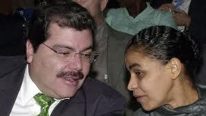 ZEQUINHA É NOSSO AMIGO: A candidata da UDN verde elogiou seu correligionário e antecessor que no Ministério no governo de FHC.