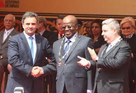 Importantes ditadores vieram prestigiar o encontro de Tancredo com JB.