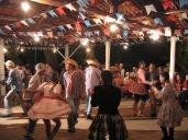 QUADRILHA: A UDN organizou uma bela festa junina para comemorar o encontro.