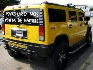 TERROR: A gente bonita de Higienópolis já preparar seus Hummers para imitar os famintos venezuelanos.