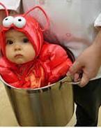 ARMADILHA: Os eleitores infantis paulistas pensaram que a roupinha de lagosta era uma armadilha dos comunistas para caçarem criancinhas para o jantar.