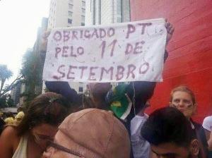 CORAGEM: As novas lideranças da UDN denunciaram a participação do PT no maior atentado que a Pátria já sofreu.